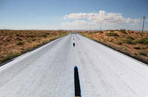 white-road