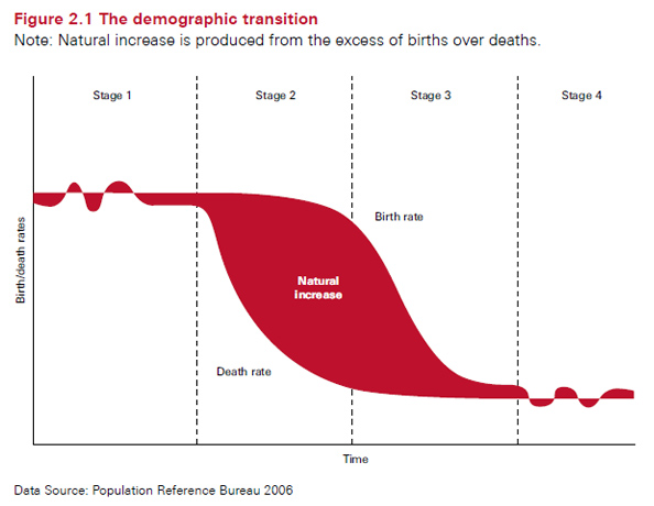 Understanding the demographic transition | Make Wealth History