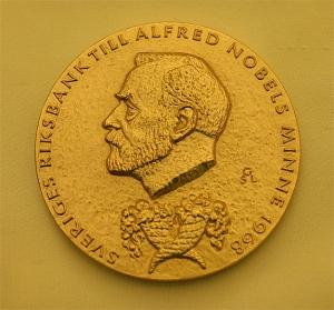 nobel economics medal