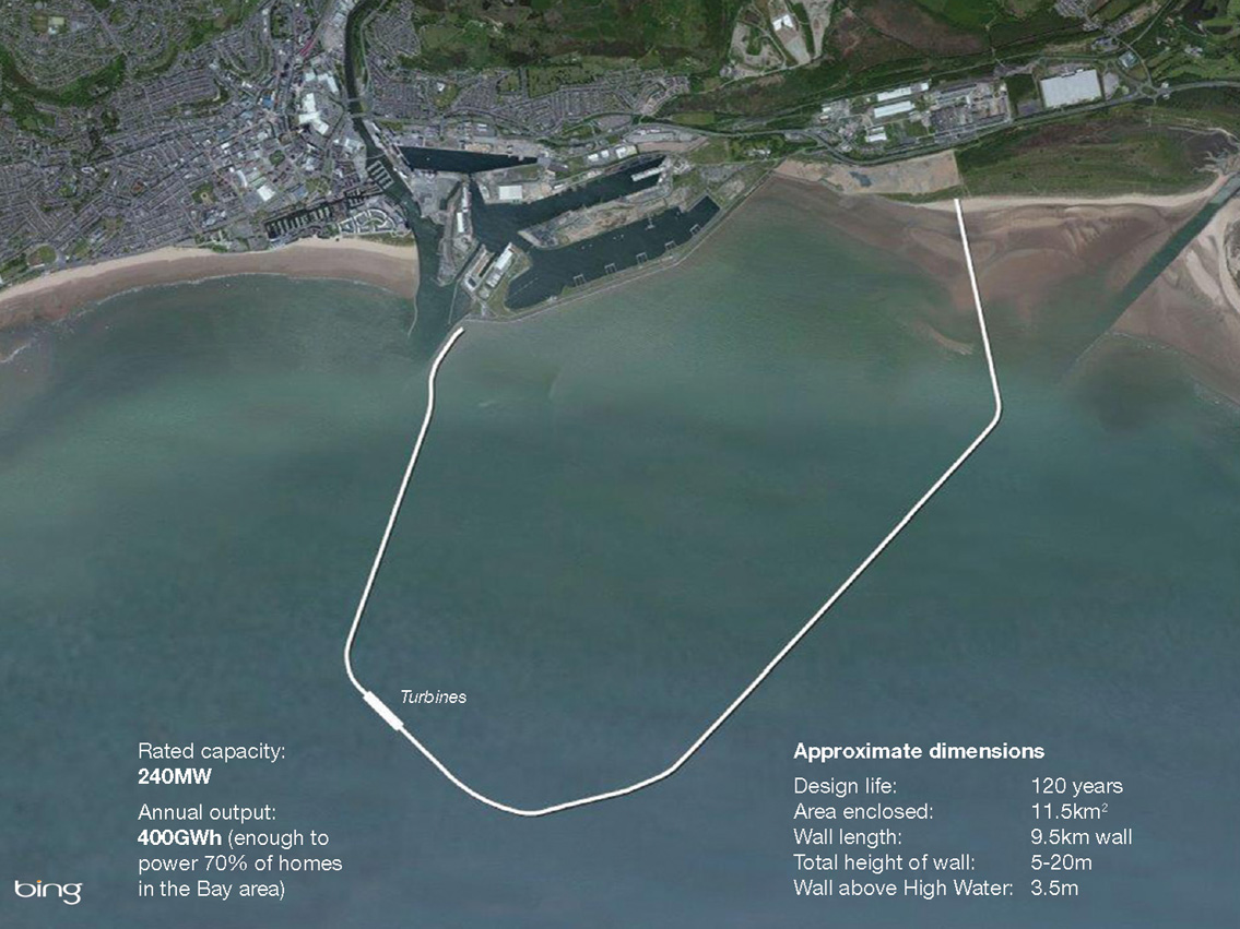 Tidal lagoon power in swansea bay make wealth history this more obscure form of renewable energy works by creating an artificial lagoon and then using the tides to fill it and empty it nvjuhfo Images
