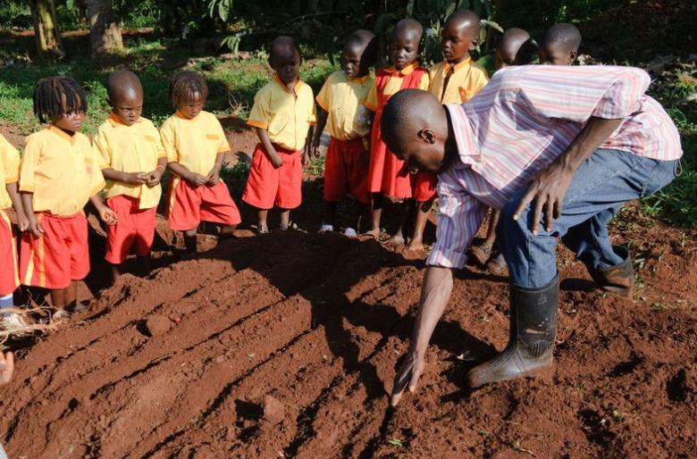teaching-planting
