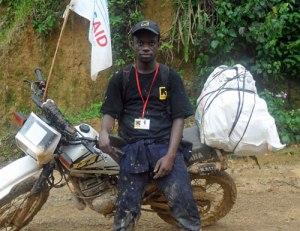 DRC aid bike