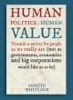 human politics human value
