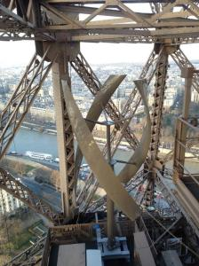 eiffel tower turbine