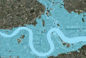 london flood