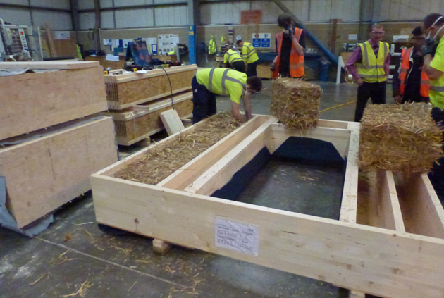 Building of the week bristol s straw houses make wealth for House panels prefabricated