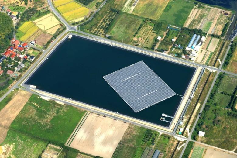 floating solar japan