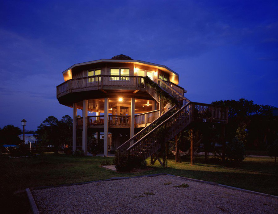 Building of the week the hurricane proof home make for Hurricane proof home plans