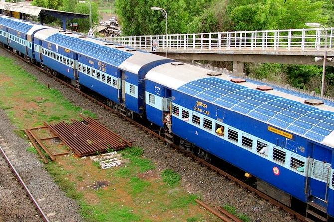 Indian Railways Is Putting Solar Panels On Trains Make