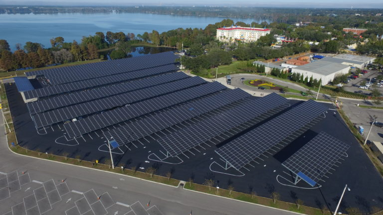 Building Of The Week Solar Canopies Make Wealth History